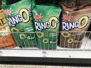 Ringos 6 Pack 89p @ Home Bargains - choice of 3 flavours
