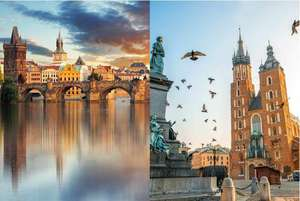 From Liverpool: Prague & Krakow Trip, including flights, overnight train and central accommodation £141.19pp @ Ebookers