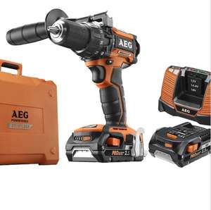 AEG 18V Li-Ion Brushless Combi Drill, 2 x 2.5Ah batteries, Fast Charger & Case (6 year warranty) BSB18CBLI-252CUK £95.98 Delivered @ CPC