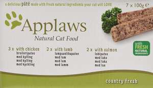 Applaws Cat Food Pate Multipack Fresh Selection 7x100g @ Amazon £6.86 Prime £11.35