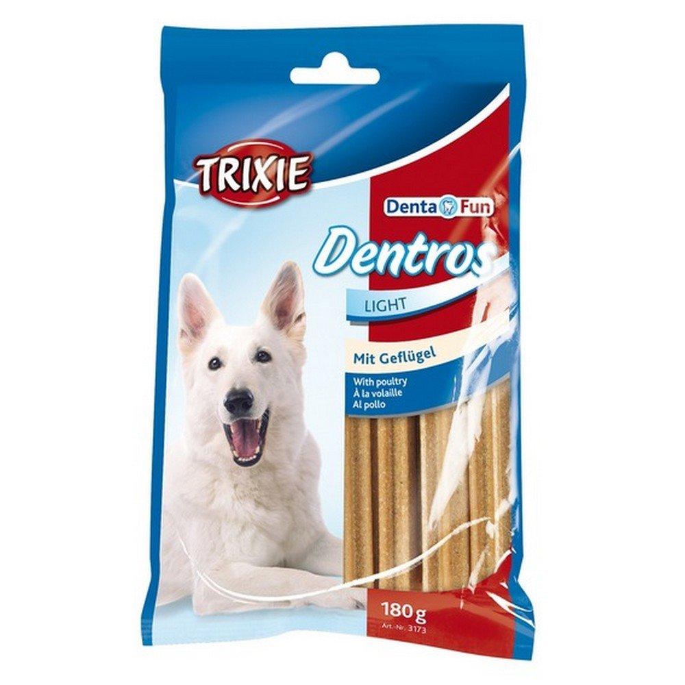 Trixie Mini Denta Fun Dentros with Poultry, 180 g, Pack of 18, Total of 126 Dentros @ Amazon £9.22 Prime £13.71 Non Prime