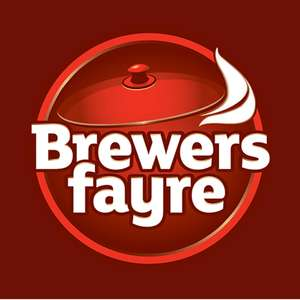Adult Unlimited Breakfast + 2 kids (under 16) eat FREE £9.50 / £3.17pp - Incl. Costa Coffee, Bacon, Eggs, Cereal, Pastries.. @ brewers fayre