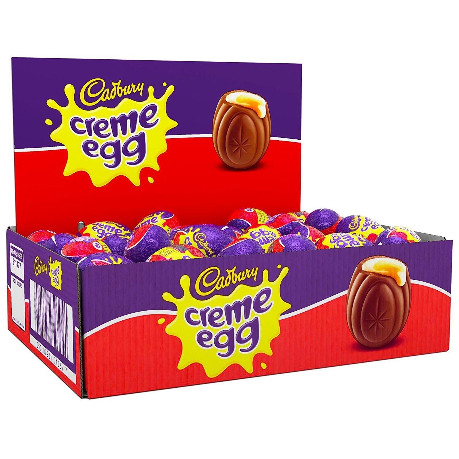 48 Creme Eggs £19.20 Prime / £23.69 Non Prime at Amazon