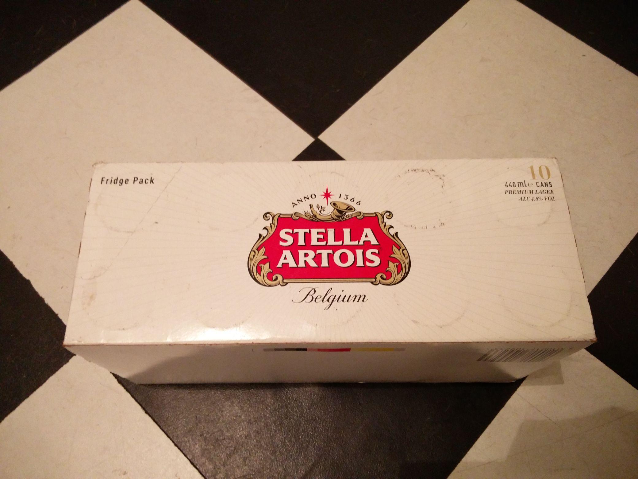 10 x 440ml Stella Artois £8 - Co-op