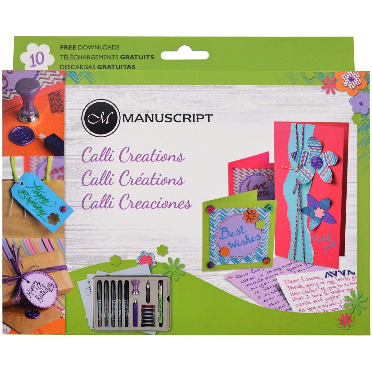 Manuscript Calli-Creations Set @ Amazon Add On £3.29