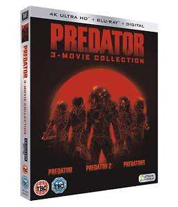 Predator Trilogy [2018] (4K Blu-ray) Entertainment Store on eBay £19.99