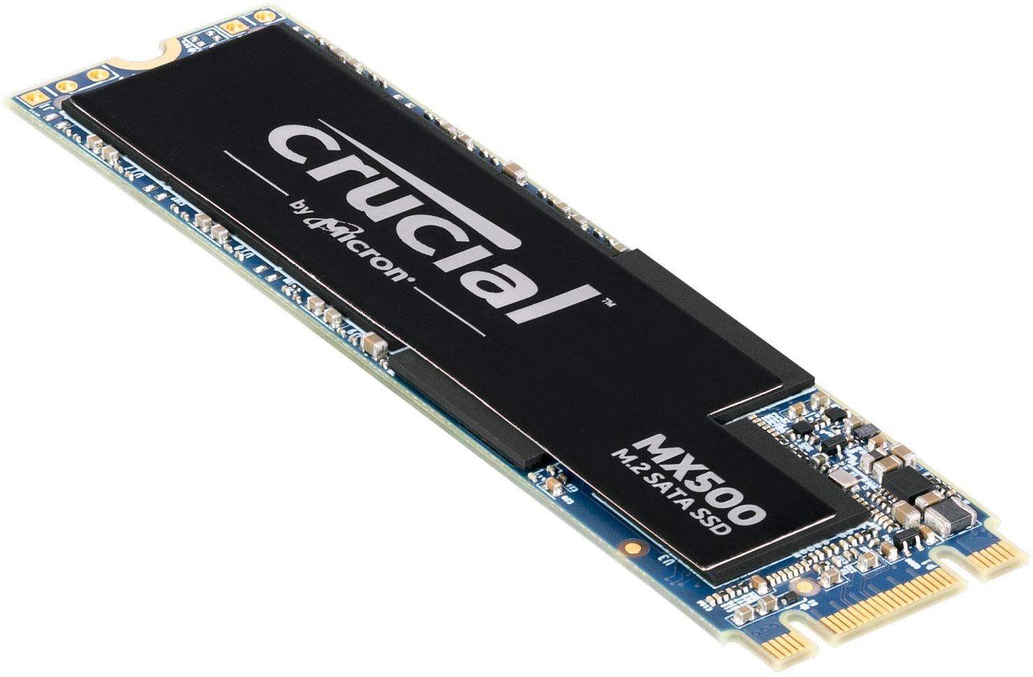Crucial 500GB MX500 M.2 SATA SSDCT500MX500SSD4 £62.99 @ Amazon.co.uk
