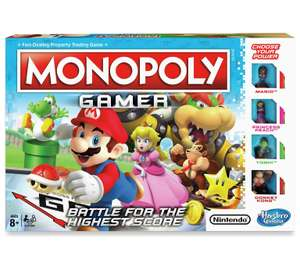Monopoly Gamer edition reduced in clearance to £7 @Argos free C/C