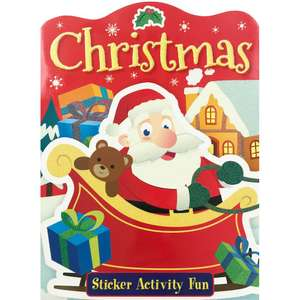 Christmas Festive Sticker Activity Book @ The Works. 60p using code BOUNTY. Free C&C