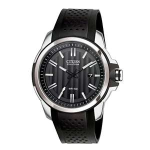 Citizen Eco-Drive AW1150-07E AR2.0 Men's Rubber Strap Watch £76.50 + FREE P&P @ H Samuel