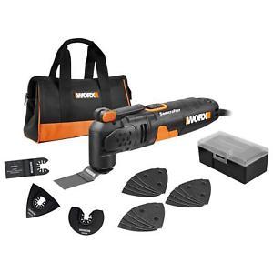WORX WX679 250W Sonicrafter Multi-Tool Oscillating Tool with 18 Accessories - £29.99 @ positecworx  eBay