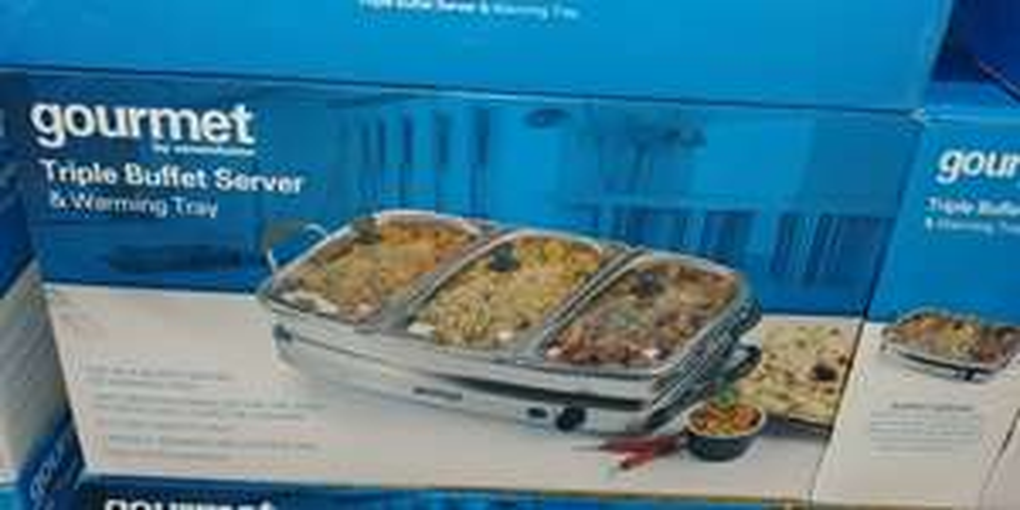Triple Buffet server (CostCo Reading) - £35.96