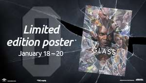 FREE Poster When You Book To See 'Glass' @ Odeon