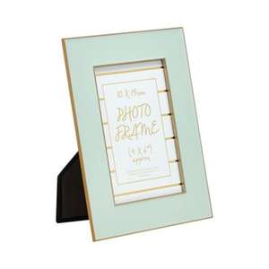 Debenhams Home Collectiongreen 'Cosmo' enamel photo frame - £4.20 from £14 and free C+C using code