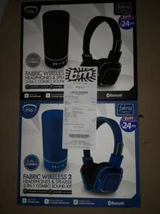 Fabric wireless 2 in 1 combo sound kit - £10 @ B&M (Doncaster)