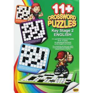 SKIPS 11 Plus Crossword Puzzles - KS2 English for £1.50 free C&C (More In OP) @ TheWorks