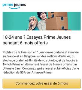 Get 6 Months Of Prime Video AND Prime Music for FREE @ Amazon France