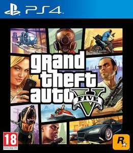 GTA 5 on PS4 for £12.99 at PS Store