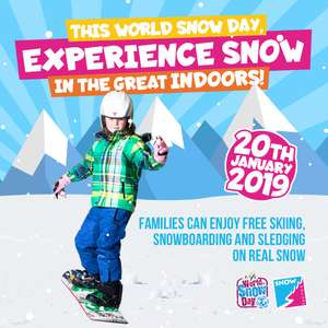 SNOWBOARD TASTER SESSIONS FOR JUST £19 @ Snow factor Glasgow