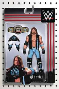 WWE AJ Styles action figure complete with accessories £2.65 + £1 del @ forbiddenplanet
