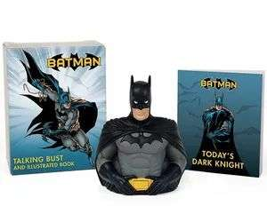 Batman: Talking Bust Kit & Illustrated Book £4.99 + £1 delivery @ forbiddenplanet