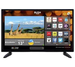 "Bush  dled32287hdcntdfvp 32"" Smart TV HD Ready, Freeview HD £149.99 @ Argos"