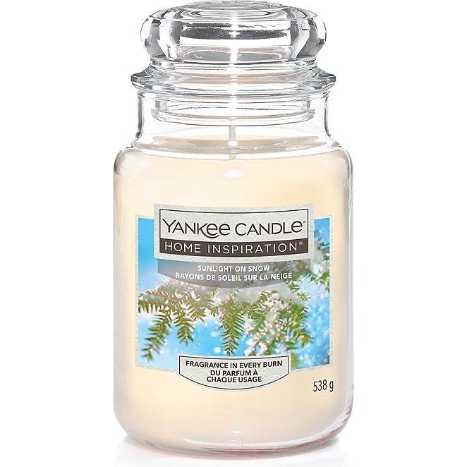 large yankee candle sunlight on snow 6 george asda. Black Bedroom Furniture Sets. Home Design Ideas