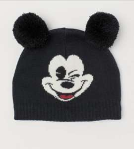 Disney Mickey Mouse knitted hat £3 delivered @ H&M (members)