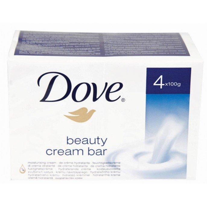 Dove Beauty Cream Bars 4x100g £1.52 @ Poundstretcher
