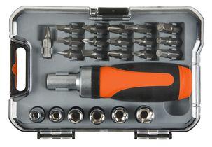 23-Piece Ratchet Screwdriver Bit and Socket Set- £2.99 + Free C&C @ Clas Ohlson