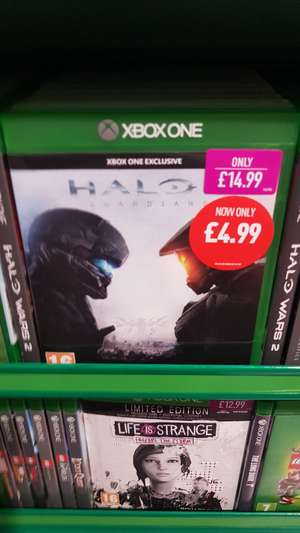 Halo 5: Guardians Xbox One (New) £4.99//Gravel Xbox One £6.99 (New) in-store @ Game