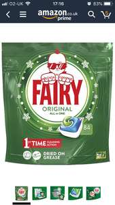 Fairy dishwasher tablets x168, works out at less than 9p per tab! - £10 each or 2 for £15 with Amazon Pantry offer (+ £4.49 del non Prime)