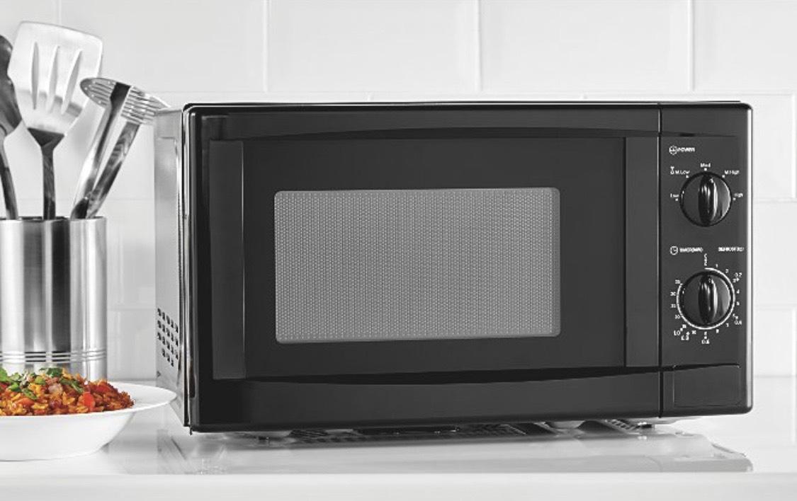 Asda home 700W black microwave - £35 @ Asda
