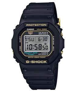 Casio G-Shock 35th Anniversary Origin Gold DW-5035D-1B Standard Digital Watch - Black/Gold, £117.99 (£114.45 With Code) @ eglobalcentral UK