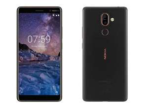 "Grade B Nokia 7 Plus Black 6"" 64GB 4G Unlocked & SIM Free £149.97 @ laptopsdirect"
