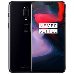 Oneplus 6 (Snapdragon 845 8GB 128GB 20.0MP+16.0MP Dual Rear Cameras Android 8.1 NFC) £330 Delivered via EU Priority @ Geekbuying