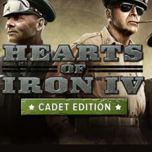 Hearts of Iron IV - Cadet Edition / PC Steam Key  £5.67 w/code @ Gamivo / ForBuy