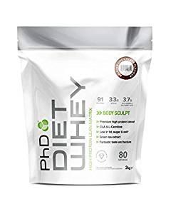 PhD Nutrition Diet Whey Protein Powder, 2 kg, Belgian Chocolate - £19.48 (Prime) £23.97 (Non Prime) @ Amazon