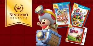 Nintendo Selects - Great, affordable games for your Nintendo 3DS and Wii U systems £15.99 / £19.99 @ Nintendo (see disclaimer - end of post)