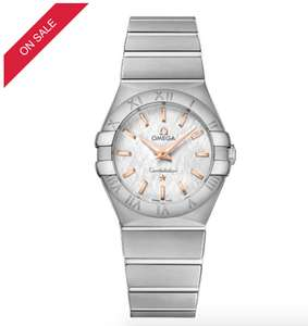 Omega Constellation Quartz Ladies' Bracelet Watch, £1380 @ Ernest Jones