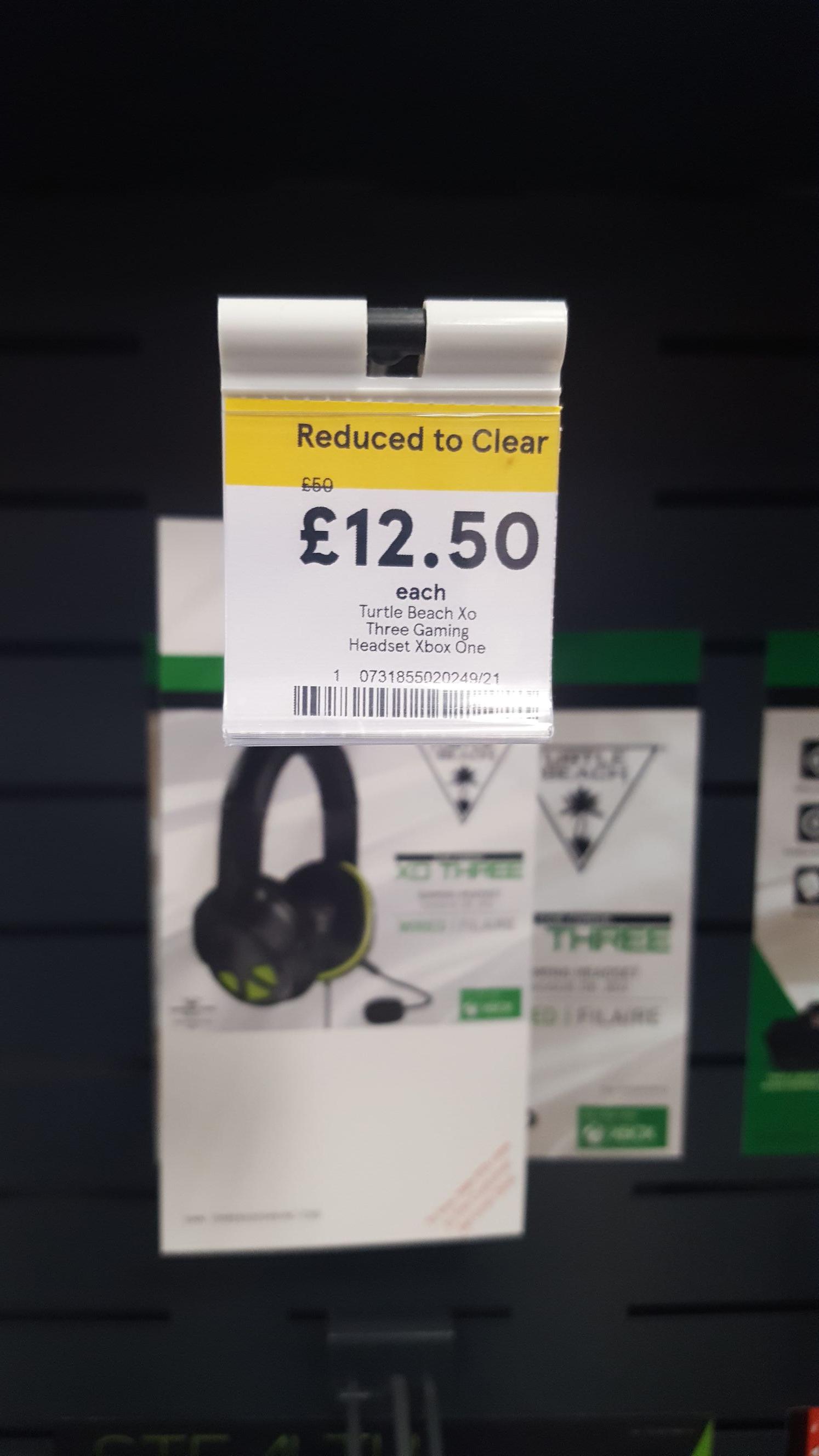 Turtle beach headset. Tesco Cheetham hill £12.50