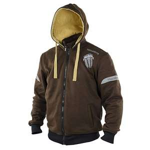 Trilobite Motorcycle Men Hoodie, Brown/Beige, Size S used  £42.49 @ Amazon