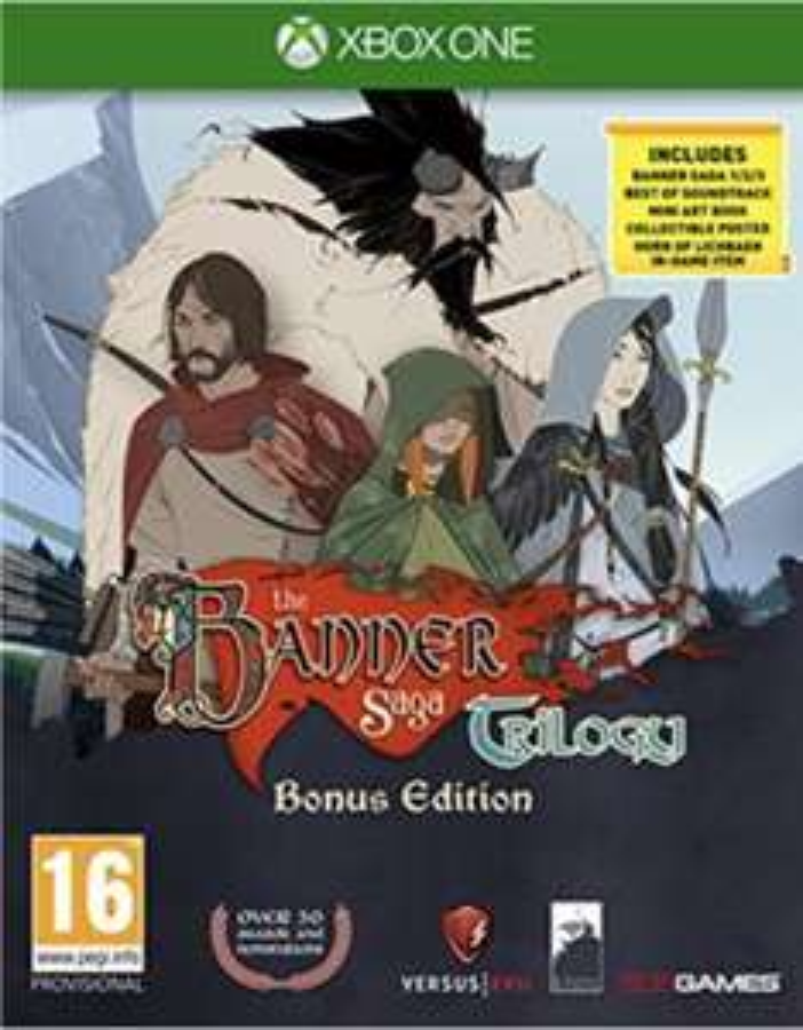 The Banner Saga Trilogy bonus edition (Xbox one) £24.85 @ Base.com// Non bonus edition Xbox one £20, PS4 £18 (plus £1.50 delivery) @ cex Uk