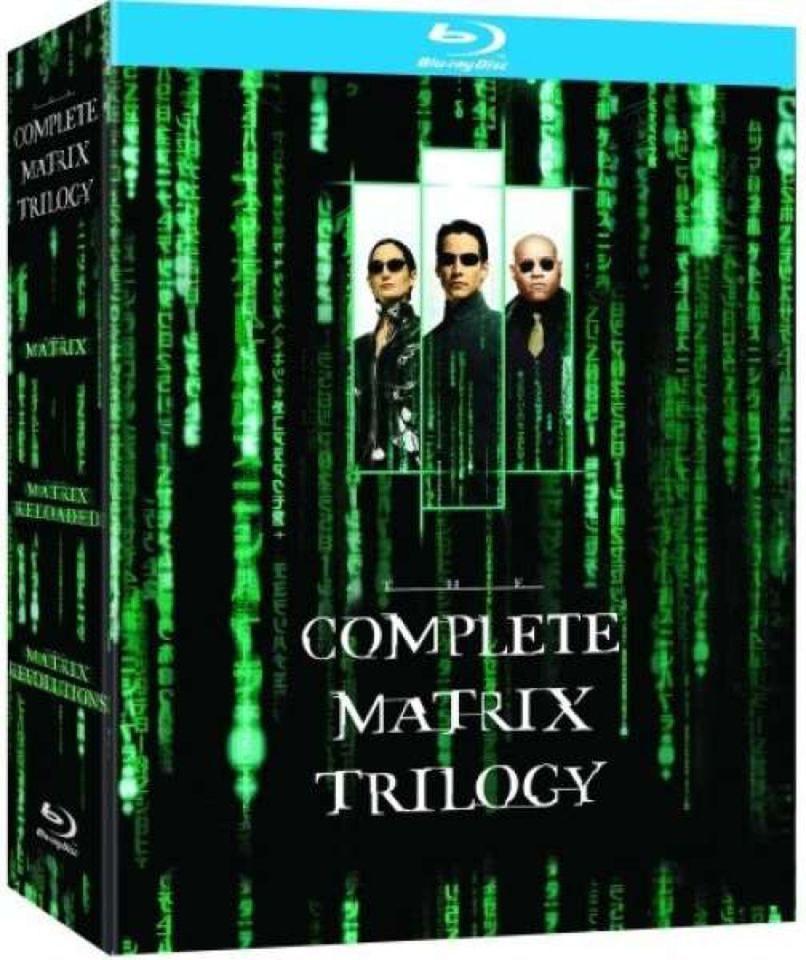 The Matrix Trilogy Blu-ray @ Zavvi £7.19 + 99p delivery