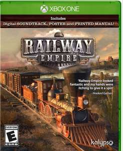 Railway Empire £9.99 instore at Game