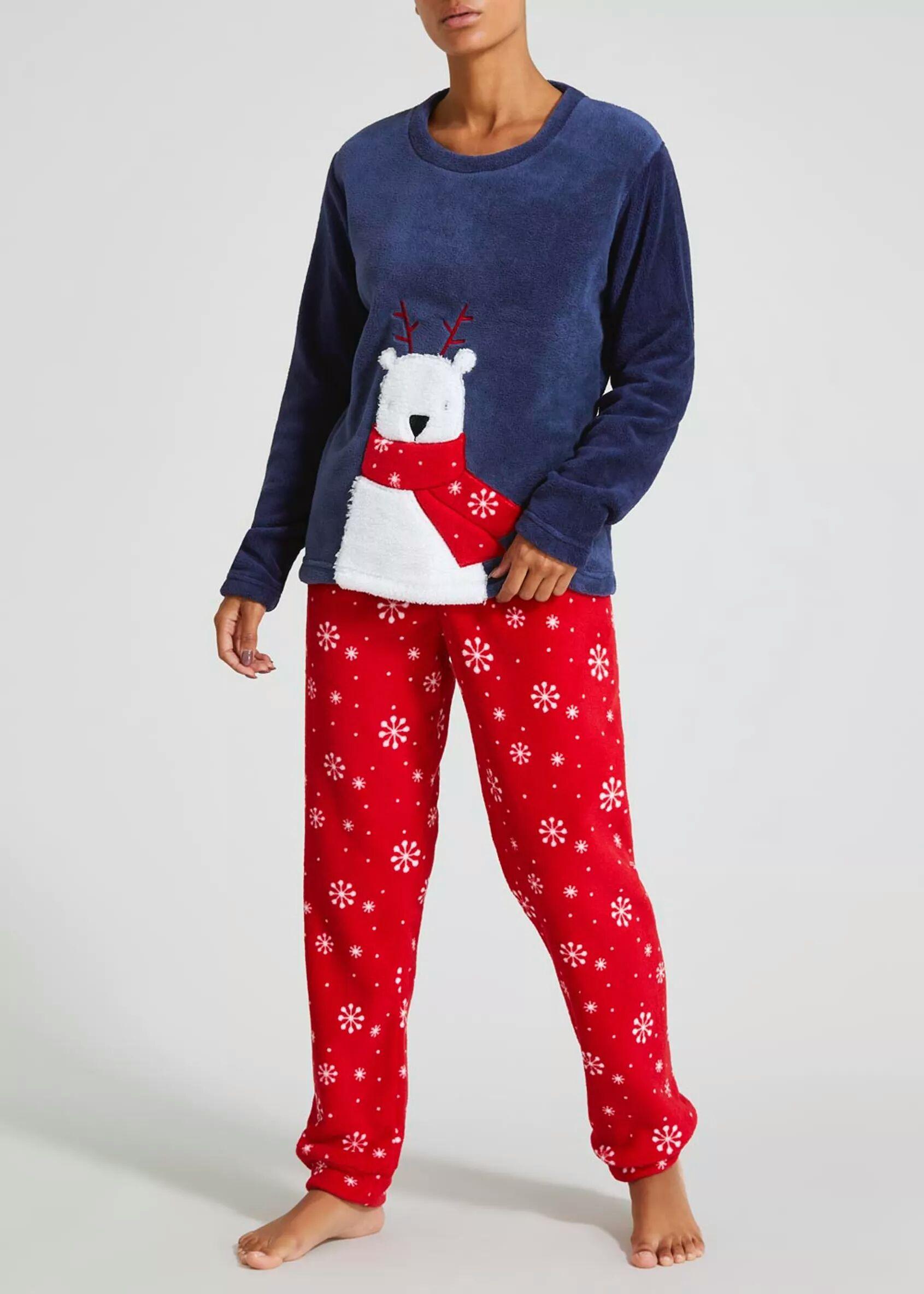 Women's fleece pyjamas £6.00 instore @ Matalan