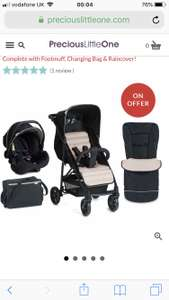 Hauck Rapid 4 Shop n Drive set (+ free delivery) £149.99 @ PreciousLittleOne