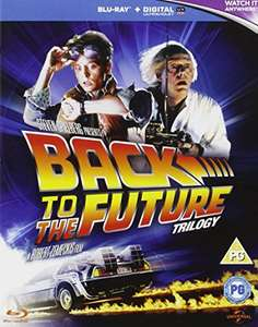 Back to the Future Trilogy Blu Ray (used  Very Good) Free Delivery - £4.94 World of Books
