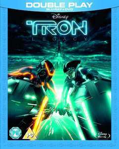 TRON: Legacy Blu Ray (used Very Good) £2.66 Free Delivery World of Books
