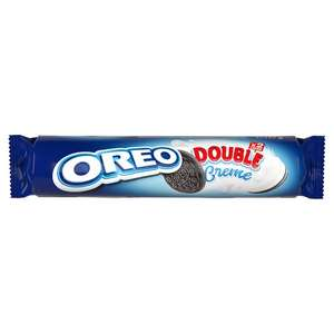 Oreo Double Stuff Cookie Biscuits 157G Choco Brownie  Original Birthday Golden Party Mint Creme Flavour Cookies 154G all 49p @ Tesco